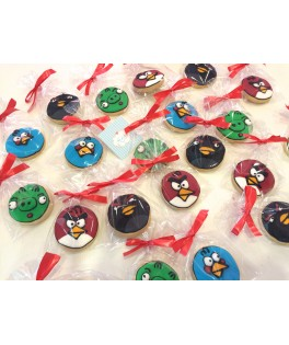 Galletas Angry Birds