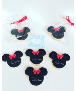 Galletas decoradas Minnie