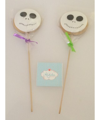 Galletas Brocheta Decoradas Halloween
