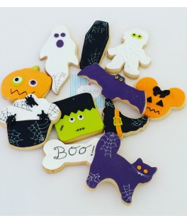Galleta decorada Halloween
